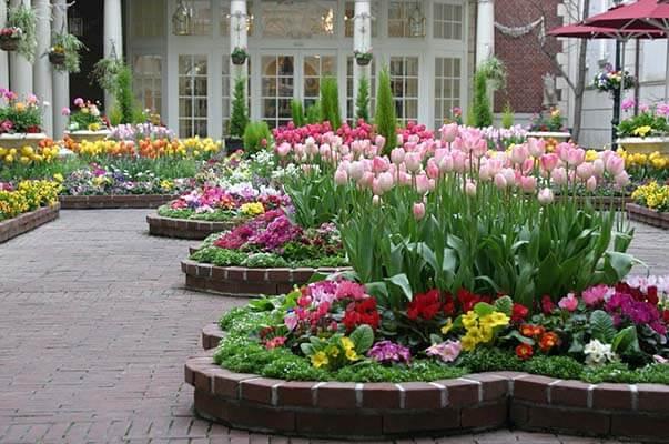 Como diseñar jardín de flores