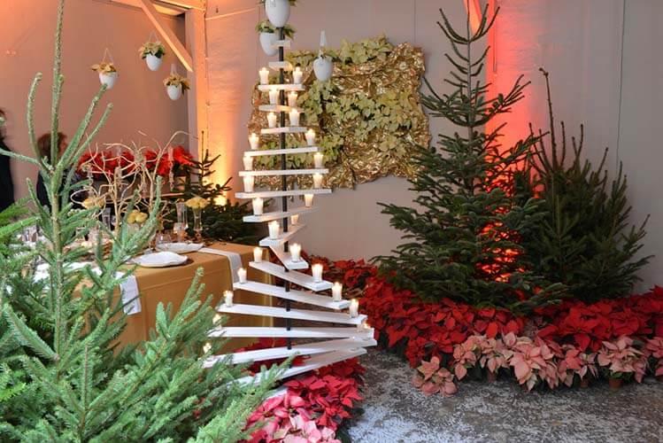 Ideas para decorar jardín en navidad