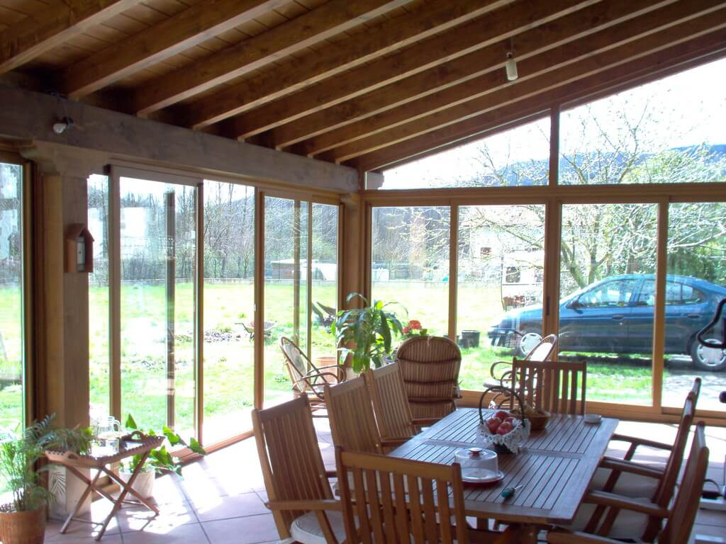 Porches madera para jardín