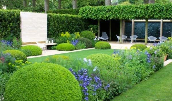 Ideas para decorar un jardin, diseño de un jardín