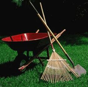 equipos para jardinería